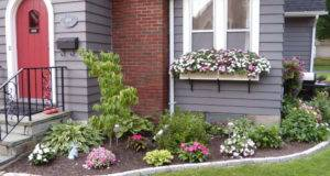 Flower Beds Around House Choosing Best Designs