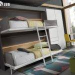 Foldaway Bunk Bed Wall