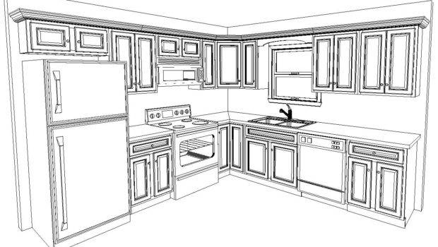Following Cabinets Included Standard Kitchen