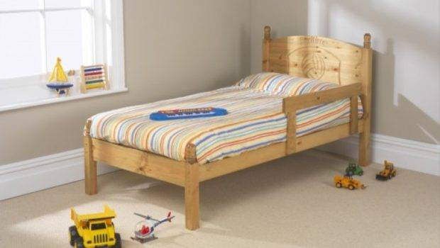 Football Small Single Pine Wooden Bed Frame Friendship Mill