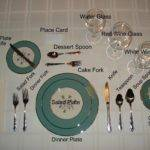 Formal Tea Table Setting