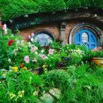 Foto Tourism New Zealand Ian Brodie Das Hobbiton Movie Set Steht