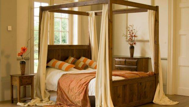 Four Poster Bed Canopy Drapes