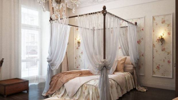 Four Poster Beds Sophisticated Canopy Translucent