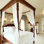 Four Poster Ideas Bed Curtains Glass Doors