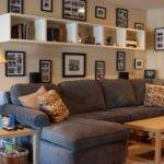 Frame Decorating Ideas Decorative Wall Small Living Room