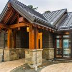 Frame Entrance Camelot Homes Custom Home Builder Qualicum