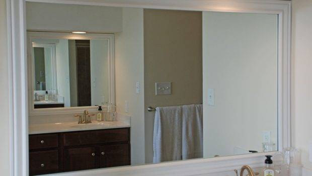Framing Bathroom Mirrors Hard Way Uniquely Yours