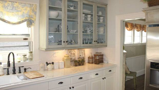 French Country Kitchen Cabinets Eclectic