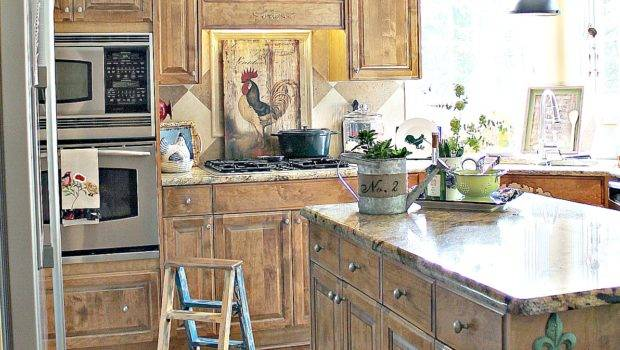 French Country Kitchen Style Freshened Debbiedoos