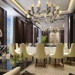 French Style Restaurant Room Interior Design