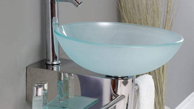 Fresca Cristallino Fvn Modern Glass Bathroom
