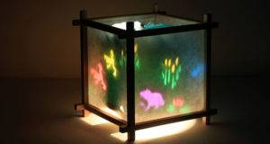 Frog Pond Kids Spinning Table Lamp Night Light Ebay