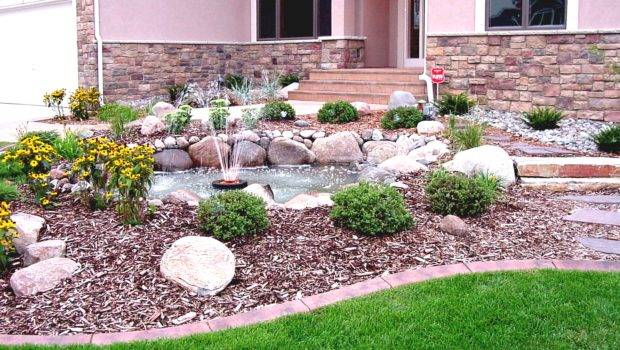Front Garden Ideas Budget Inexpensive Landscaping