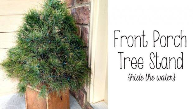 Front Porch Christmas Tree