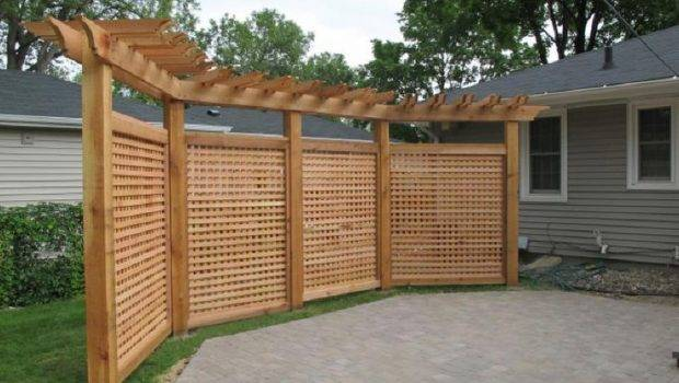 Front Yard Garden Privacy Screen Backyard Ideas