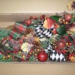 Frontgate Grandinroad Christmas Abbeville Mantel Swag Garland