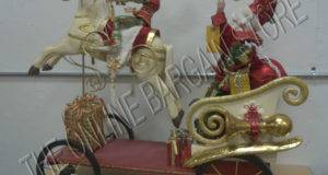 Frontgate Mark Roberts Christmas Holiday Santa Elf Riding Carousel