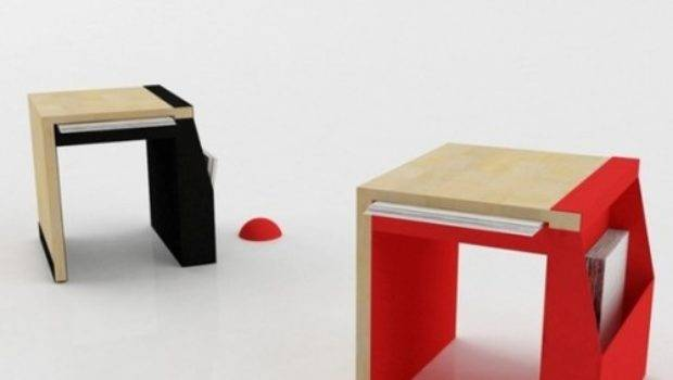 Functional Chair Small Spaces Design Bookmark
