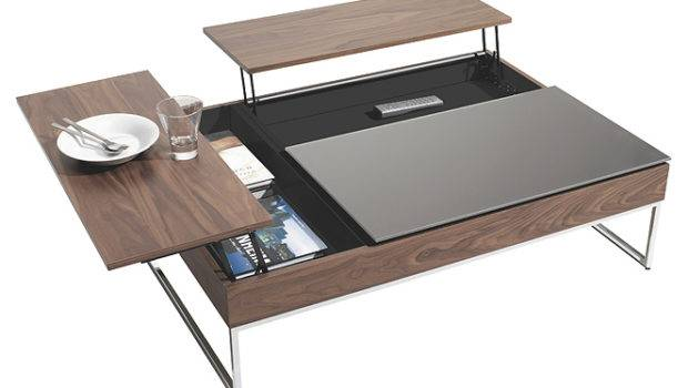 Functional Coffee Table Says All Home