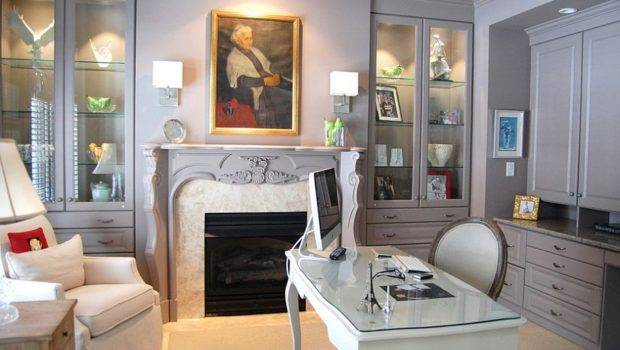 Functional Home Office Design Also Serves Great Reading Room