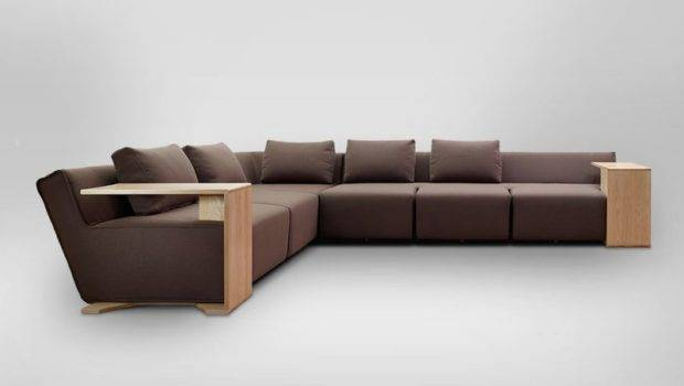 Functional Modular Sofa Modifiable Wooden Tables Hocky Home