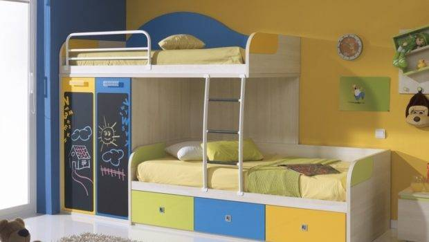 Funky Bunk Offset Bed Furniture