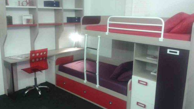 Funky Bunk Space Saving Beds Staggered Bed
