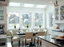 Furniture Bay Window Dining Room Banquette Seating Style