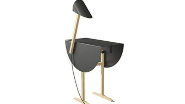 Furniture Coffee Tables Ostrich Side Table Lamp Valsecchi