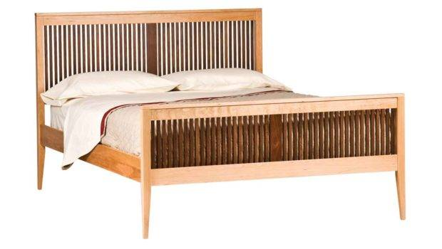 Furniture Heritage Luna Bed Cherry Beds Boston Circle