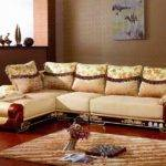 Furniture Home Design Modern Wooden Leather Sofa Designs