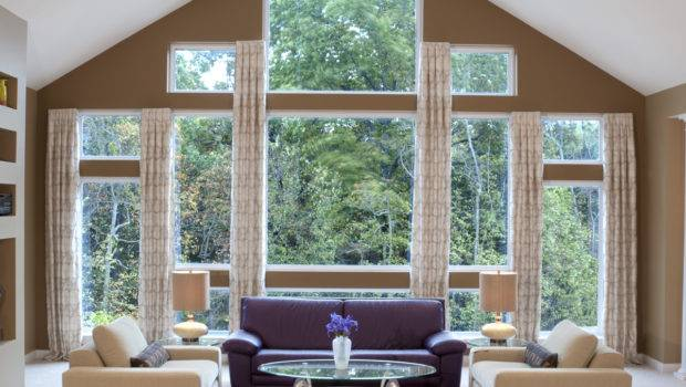 Furniture Large House Windows Home