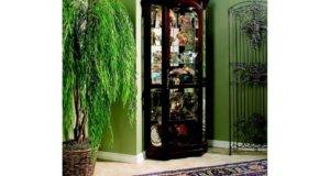 Furniture Living Room Corner Curio Weinberger