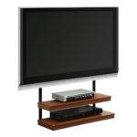 Furniture Long Narrow Wall Mount Stand Two