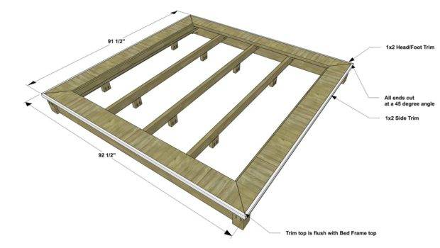 Furniture Plans Build Post Canopy Bed Via Thedesconf