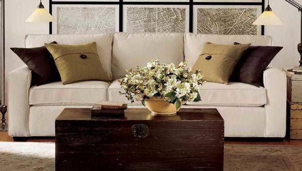 Furniture Pottery Barn Sectional Sofas Living Room