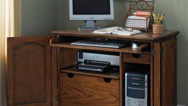 Furniture Pretty Computer Armoire Home Office