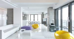 Furniture Purple Yellow Room Ideas