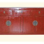 Furniture Storage Cabinets Sideboards Red Lacquer Cabinet