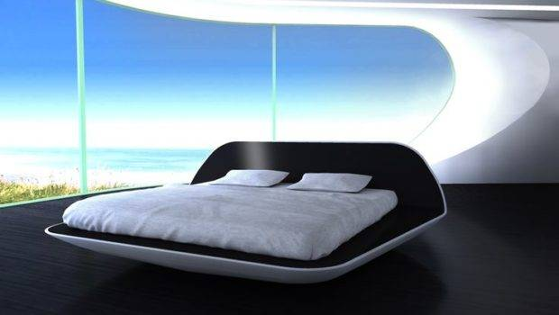 Futuristic Bed Magetic Floating Room Beds