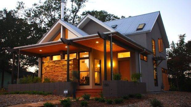 Gabled Leed Platinum Newcomer House Georgia Cost Just Per Squ