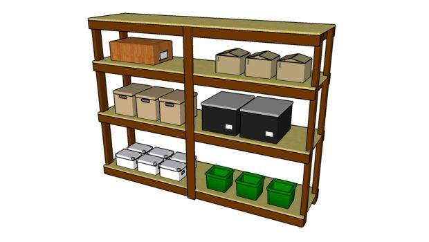 Garage Shelving Plans Wood Pdf Woodworking