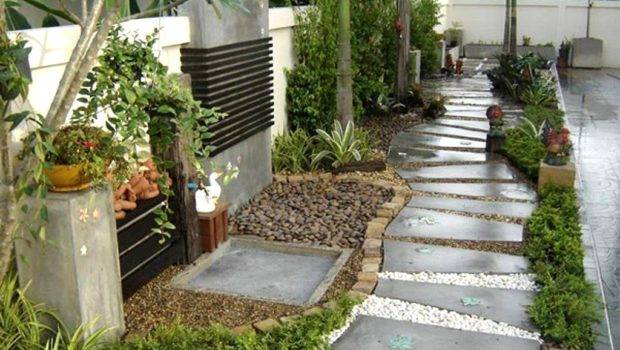 Garden Ideas Budget Captivating Inexpensive Front