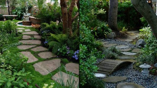 Garden Pathway Designs Interior Architectures Ideas