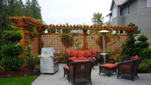 Garden Privacy Backyard Ideas Cool