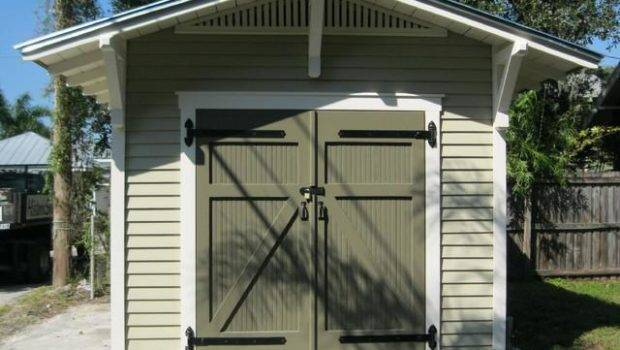 Garden Shed Door Ideas Plans