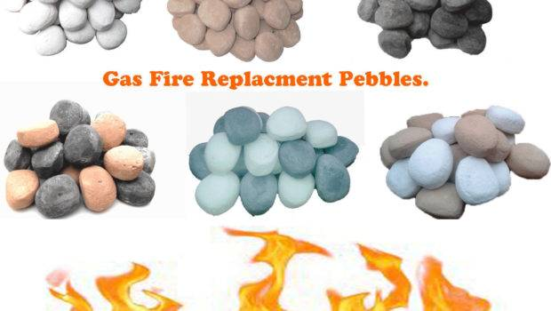Gas Fire Replacment Stones Rocks Inserts Best Quality Price