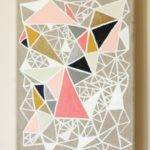 Geometric Painting Knock Off Dans Lakehouse