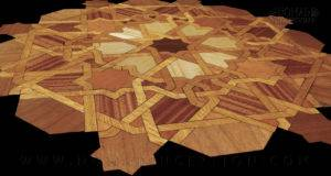 Geometric Wood Work Design Nomad Inception